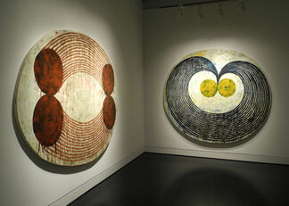 STEVEN CUSHNER: The Shaped Paintings, 1991 - 1993, installation view