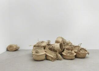 """Maria Loboda """"A rapid approach or more likely departure"""", installation view"""