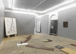 Blind Hierarchies, installation view