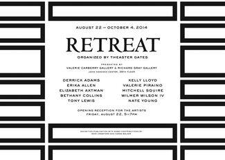 RETREAT, installation view