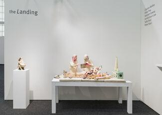 the Landing at NADA New York 2016, installation view