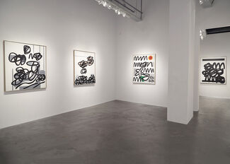 Raymond Hendler | Fifty Years of Painting, installation view