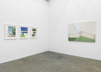 """GARTH EVANS, MERNET LARSEN & REBECCA WARD, """"3 SHIFTS"""", installation view"""