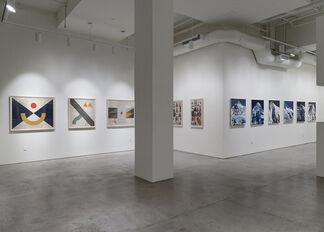 Evan Hecox - The Long Way, installation view