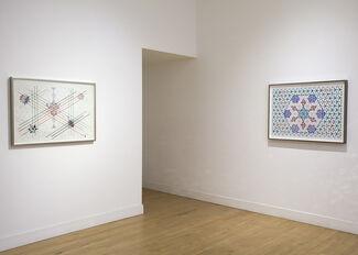 Based on the Hexagon: The Recent Drawings of Monir Farmanfarmaian, installation view