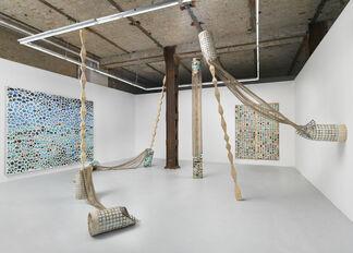 Center, installation view