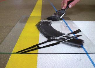 New works by Anton Cotteleer - Isabel Fredeus - Line Boogaerts, installation view
