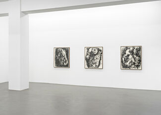 William Tucker - Charcoal Drawings, installation view