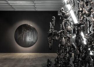 Mattia Biagi WHITE LIGHT/PITCH BLACK, installation view