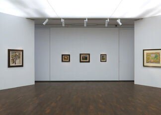 August Macke - Up close and personal: A Selection of Drawings and Pictures, installation view