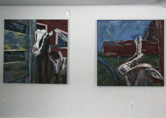 Paintings by Whit Conrad, installation view