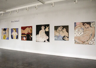 Paintings by Betsy Podlach, installation view