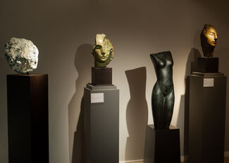Emily Young: Heritage Pieces, installation view