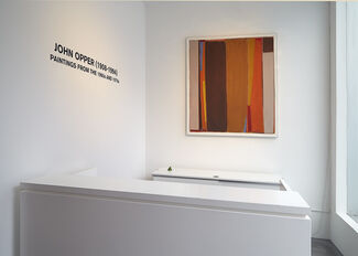 John Opper   Paintings from the 1960s and 1970s, installation view