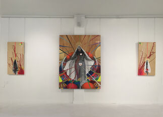 Hieros Gamos, installation view