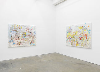 """ALEJANDRO OSPINA, """"A BEE IN MY BONNET"""", installation view"""