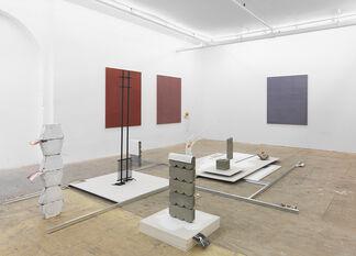 Florian Schmidt & Adrián S. Bará, installation view