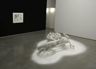 """Banks Violette - """"Not Yet Titled"""", installation view"""