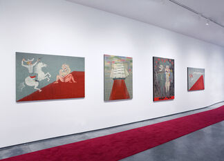 Red Carpet, installation view