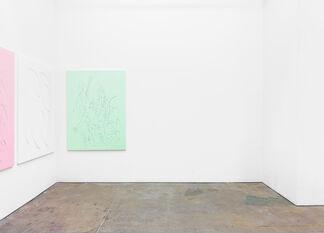 """RICHARD GASPER, """"GALVANIZED HYDRANGEA"""", installation view"""