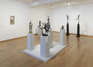Two Pataphysicians: Flanagan Miró, installation view