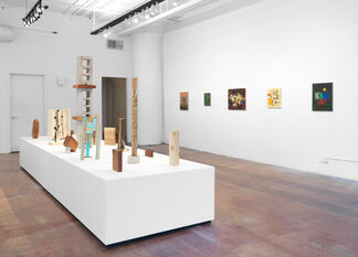 Brad Killam: Painting + Sculpture, installation view