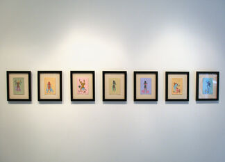 Alexia Stamatiou - In the Twinkling of An Eye, installation view