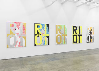 """Michael Pybus, """"IF IT WORKS, IT'S OBSOLETE"""", installation view"""