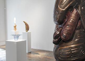 Preston Singletary: Premonitions of Water and James Mongrain: Inspirations, installation view