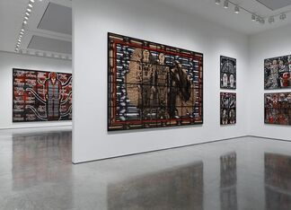Gilbert & George: SCAPEGOATING PICTURES for London, installation view