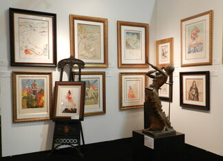 Fine Art Acquisitions at Red Dot Art Fair Miami 2014, installation view