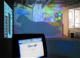 "Cory Arcangel - ""Welcome 2 my Artshow!!!!!!!!!"", installation view"