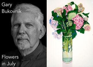 Gary Bukovnik — Flowers in July, installation view