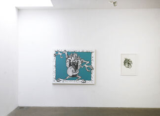 MARK DEAN VECA: EVERLAST - New Paintings and Works on Paper, installation view
