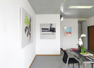 Jill Moser Paintings and Drawings, installation view