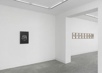 Asger Carlsen - DRAWINGS FROM THE HAND, installation view