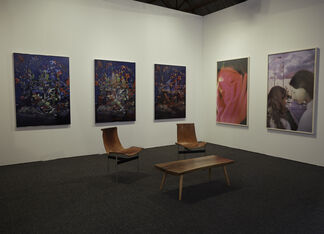 Ever Gold [Projects] at Art Los Angeles Contemporary 2017, installation view
