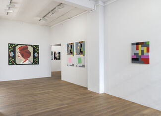 Spezifikation #40: Reinhard Voigt, DATA siegt!, installation view