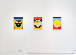 Andy Mattern: Average Subject / Medium Distance, installation view