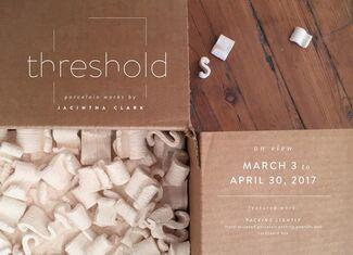 Threshold: Porcelain Works by Jacintha Clark, installation view
