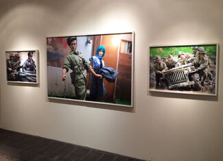 Allouche Gallery at Art on Paper Miami 2015, installation view