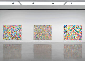 Damien Hirst: Colour Space Paintings, installation view