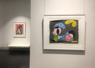 David Hockney Prints, installation view