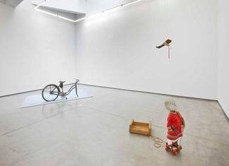 "Vlassis Caniaris - ""Sculptures: 1973-74"", installation view"