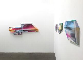 "Trygve Faste ""Multidimensional Flatspace"", installation view"