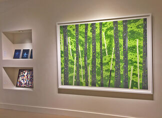 Ross Bleckner: New Paintings & Works on Paper, installation view
