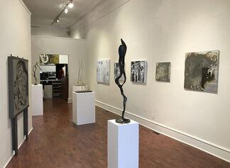 Sallade, Dubinsky, Scarpone, installation view