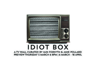 IDIOT BOX, installation view