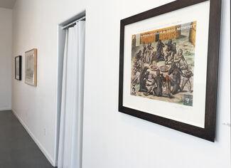TRUMP CARD: Enrique Chagoya, Patrick Martinez, Mac Mechem, Travis Somerville, installation view
