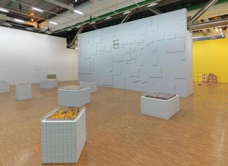Claude Rutault: D'où je viens, où je suis, où je vais, installation view